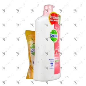 Dettol Bodywash 950ml Skincare+250ml Fresh