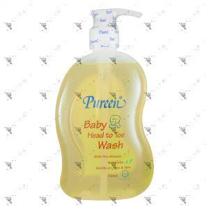 Pureen Baby Head To Toe Wash 750ml