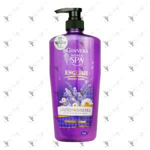 Ginvera Real Spa Shower Scrub 750ml Lavender