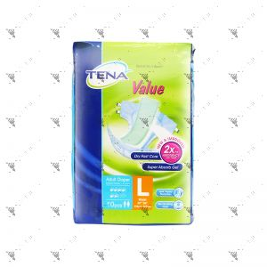 Tena Value Adult Diaper L10s