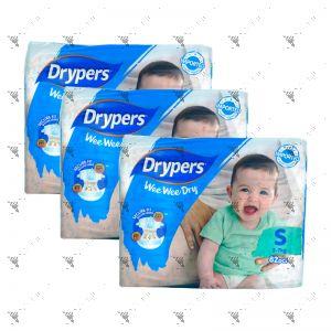 Drypers Wee Wee Dry S 82S (1Carton=3pack)