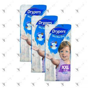 Drypers Wee Wee Dry XXL 40s (1Carton=3pack)