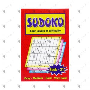Sudoku Four Levels of Difficulty Book 21