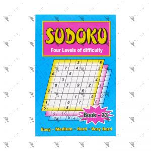 Sudoku Four Levels of Difficulty Book 23