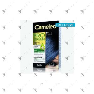 Cameleo Pro-Green Perm Hair Colour 2.0 Blue Black