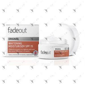Fade Out Original Whitening Moisturizer SPF15 50ml
