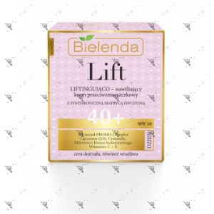 Bielenda Lift Lifting and Moisturizing Anti-Wrinkle Cream 40+ Day SPF10 50ml