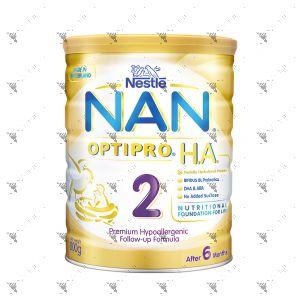 Nestlé® NAN® OPTIPRO® H.A. 2 Follow-up Formula 800g