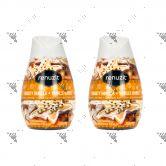 Renuzit Aroma Air Freshener Gel 198g Frosty Vanilla (x2)