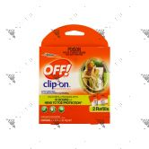 OFF! Mosquito Repellent Clip-On Refills 2s 92mg net