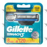 Gillette Mach 3 Dispenser 8s