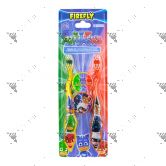 Firefly Toothbrush W/Cap PJMasks Travel Kit 2s