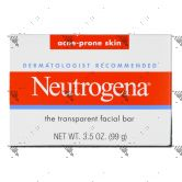 Neutrogena Acne Facial Bar Soap 100g