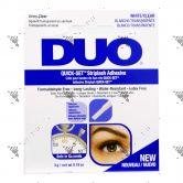 Duo Quick-Set Striplash Adhesive White/Clear 5g