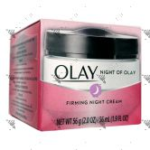 Olay Night of Olay Firming Night Cream 56ml