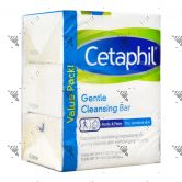 Cetaphil Gentle Bar 3x127g Value Pack