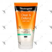 Neutrogena Clear & Defend Wash-Mask 150ml For Spot -Prone Skin