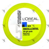 Studio Line Mineral & Control 24hr Gel Paste 150ml Strong Hold