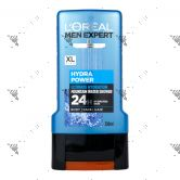 L'Oreal Men Expert Hydra Power Shower 300ml For Body Face hair
