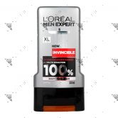L'Oreal Men Expert Invincible Shower 300ml for Body Face Hair