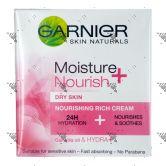 Garnier Moisture + Nourish Rich Cream 50ml Dry Skin