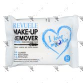 Revuele make-Up Remover Wet Wipes 20s For Eyes & Face