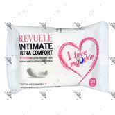 Revuele Intimate Ultra Comfort Wet Wipes 20s