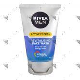 Nivea Men Active Energy Revitalising Face Wash 100ml