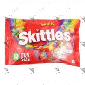 Skittles Fruits Fun Size 1Pack (10bagsx18g)