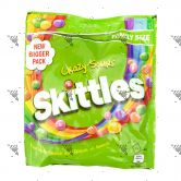 Skittles Crazy Sours Green Candy 196g