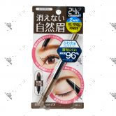 Browlash EX Waterstrong Eyebrow (Gel Pencil x Powder) Light Brown