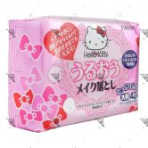 Hello Kitty Moisture Makeup Remover Wipes 42s