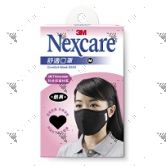 Nexcare 3M Comfort Mask Women Medium Size Black 1sheet/pack