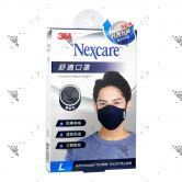 Nexcare 3m Comfort Mask Men L-Size Blue 1s 8550+