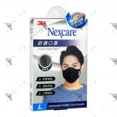 Nexcare 3m Comfort Mask Men L-Size Black 1s 8550+