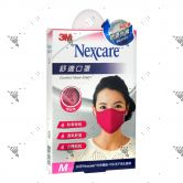 Nexcare 3m Comfort Mask Women M-Size Pink 1s 8550+
