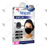 Nexcare 3m Comfort Mask Women M-Size Black 1s 8550+