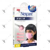 Nexcare 3m Comfort Mask Kids XS-Size Pink 1s 8550+