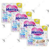 Merries Japan Tape Diapers Newborn 90s (1Carton=4pack)