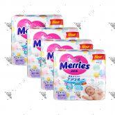 Merries Japan Tape Diapers NB 90s (1Carton=4pack)