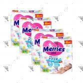 Merries Japan Tape Diapers S 82s (1Carton=4pack)