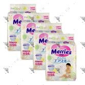 Merries Japan Tape Diapers Medium 64S (4Packs)
