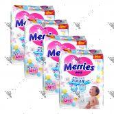 Merries Japan Tape Diapers Medium 64S (4Packs)