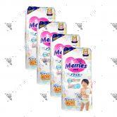 Merries Japan Tape Diapers X-Large 44S (4Packs)