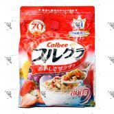 Calbee Natural Fruit Granola Cereal 800g