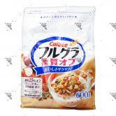 Calbee Less Sugar Natural Fruit Granola Cereal 600g