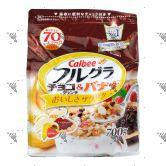Calbee Crunchy Chocolate & Banana Fruit Granola Cereal 700g