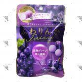 Kracie Soft Candy 32g Juicy Grape Taste