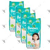Pampers (JP) Baby-Dry Diapers L 54s (1Carton=4pack)