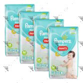 Pampers Baby-Dry Pants Medium 58s x4Packs
